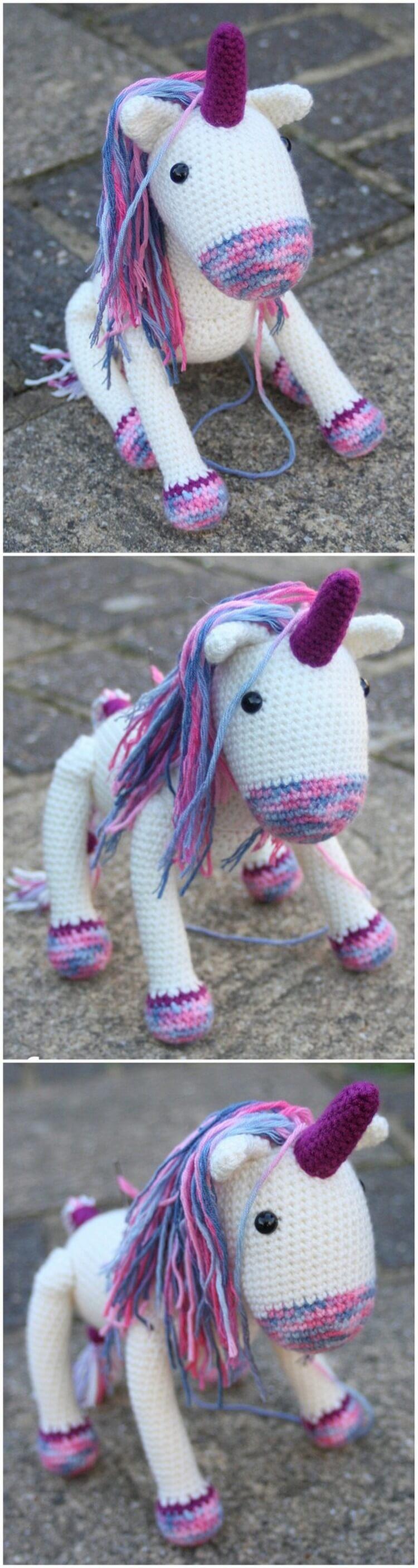 Crochet Unicorn Pattern (35)