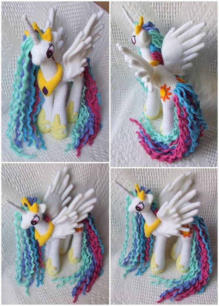 Crochet Unicorn Pattern (37)