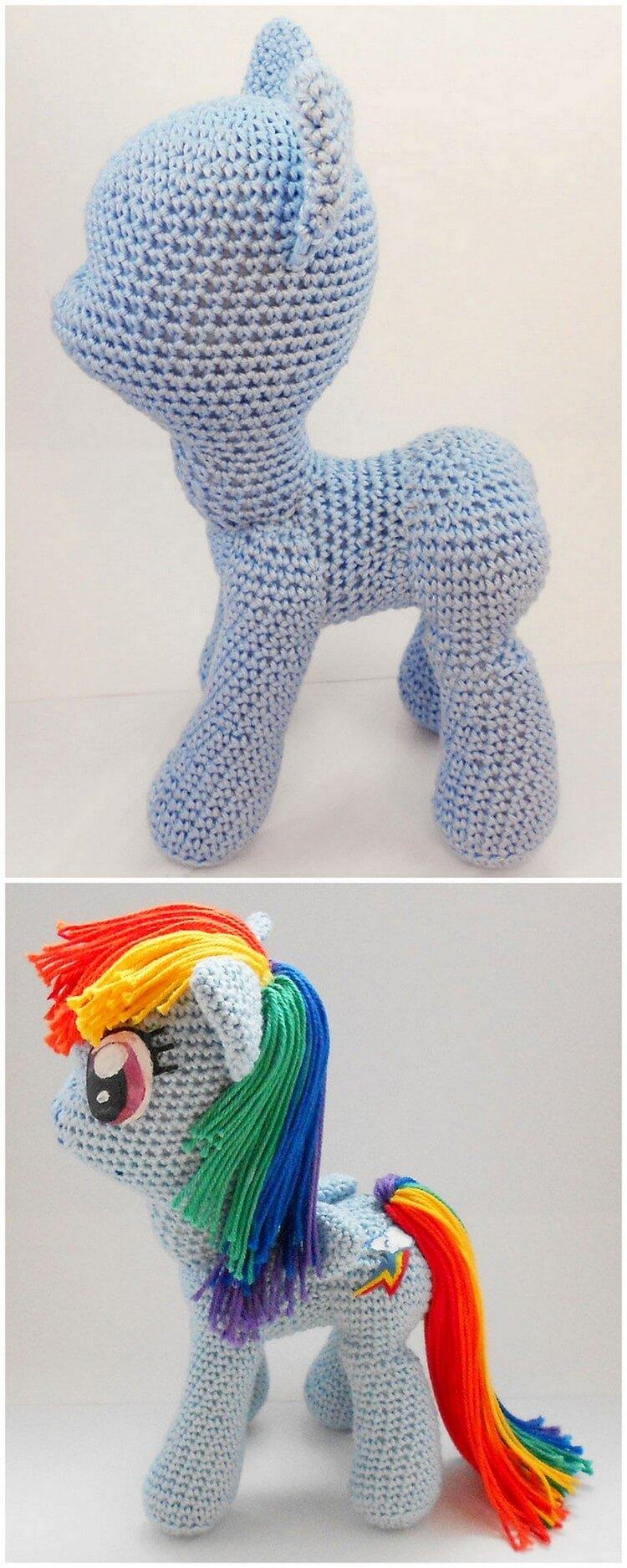 Crochet Unicorn Pattern (50)