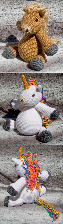 Crochet Unicorn Pattern (62)