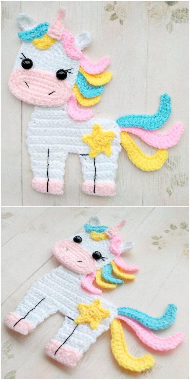 Crochet Unicorn Pattern (72)
