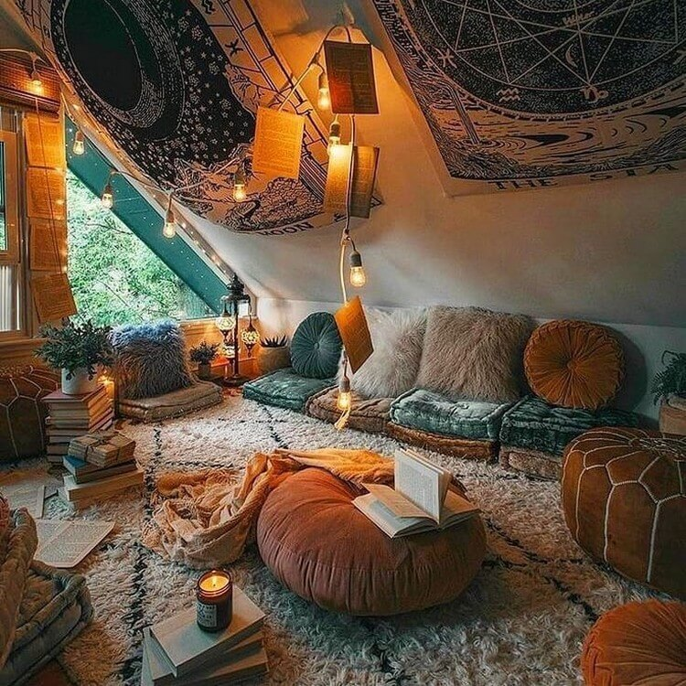 Bohemian Interior Design (20)