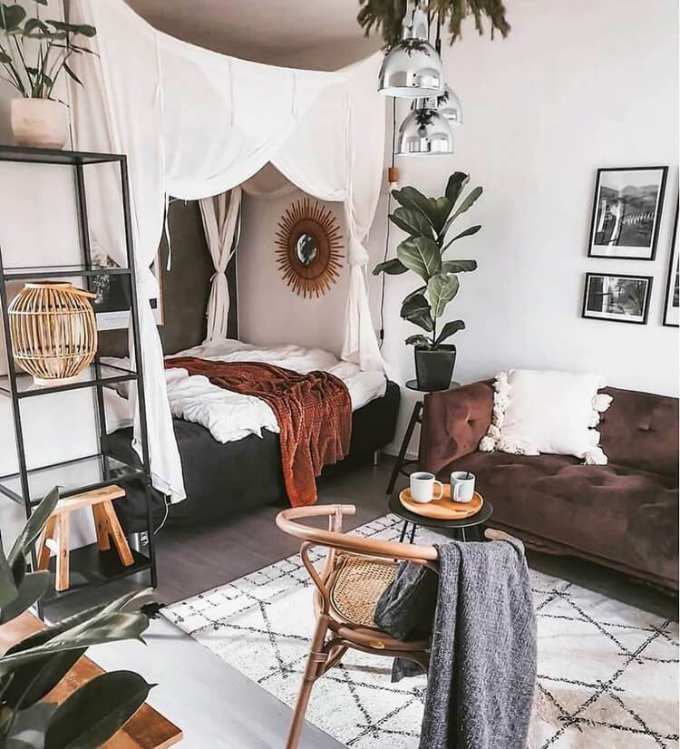 Bohemian Bedroom Decor (10)