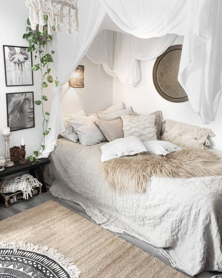 Bohemian Bedroom Decor (12)