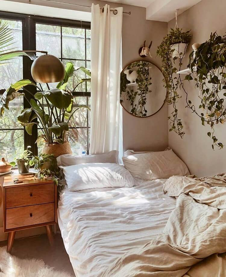 Bohemian Bedroom Decor (42)