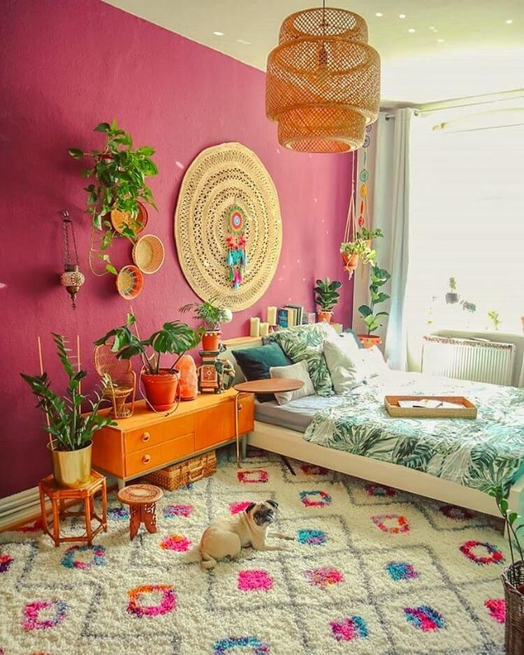 Bohemian Bedroom Decor (43)