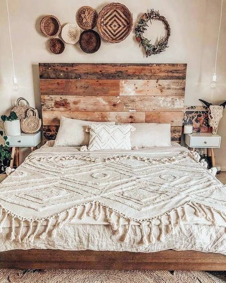 Bohemian Bedroom Decor (5)