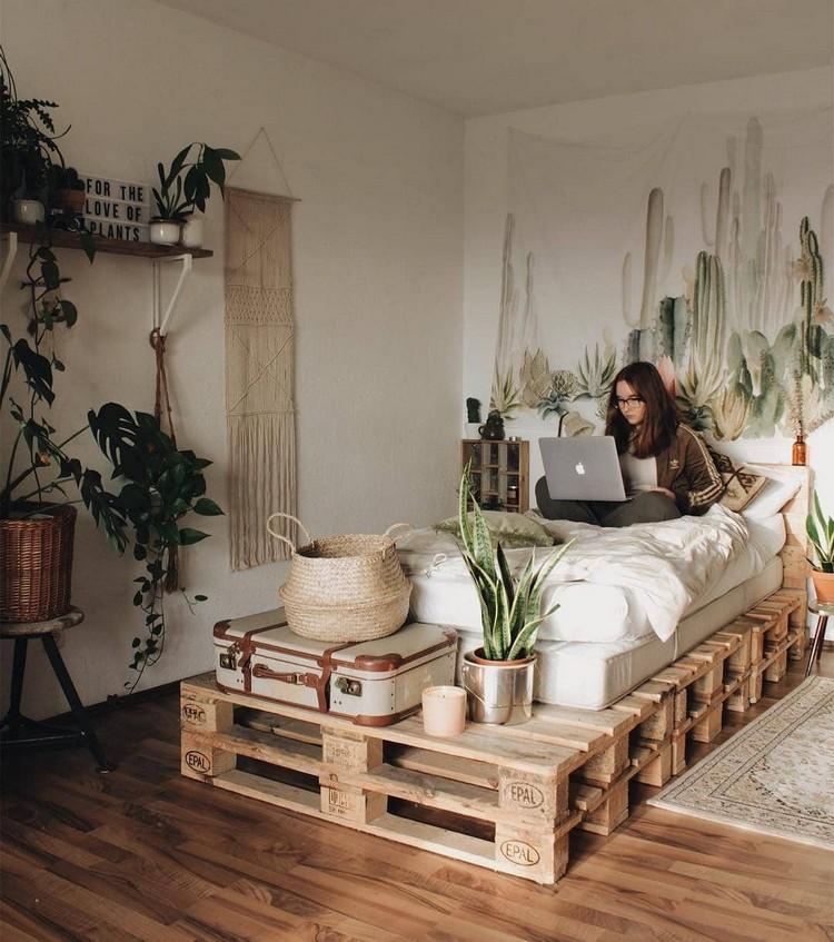 Bohemian Bedroom Decor Design (15)