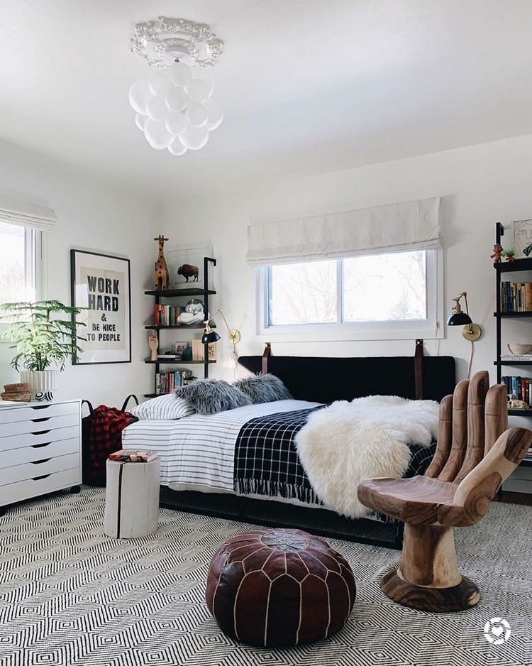 Bohemian Bedroom Decor Design (18)