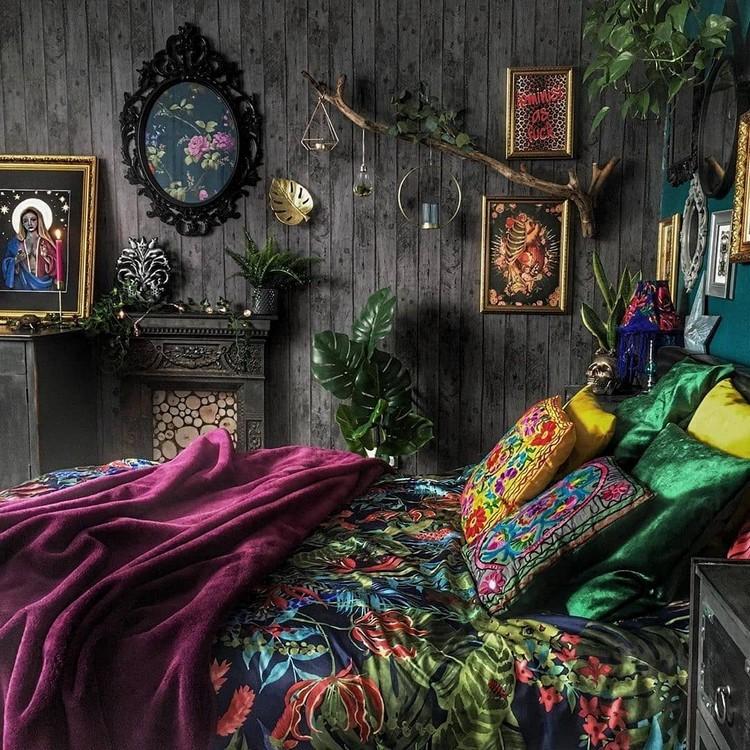 Bohemian Bedroom Decor Design (19)