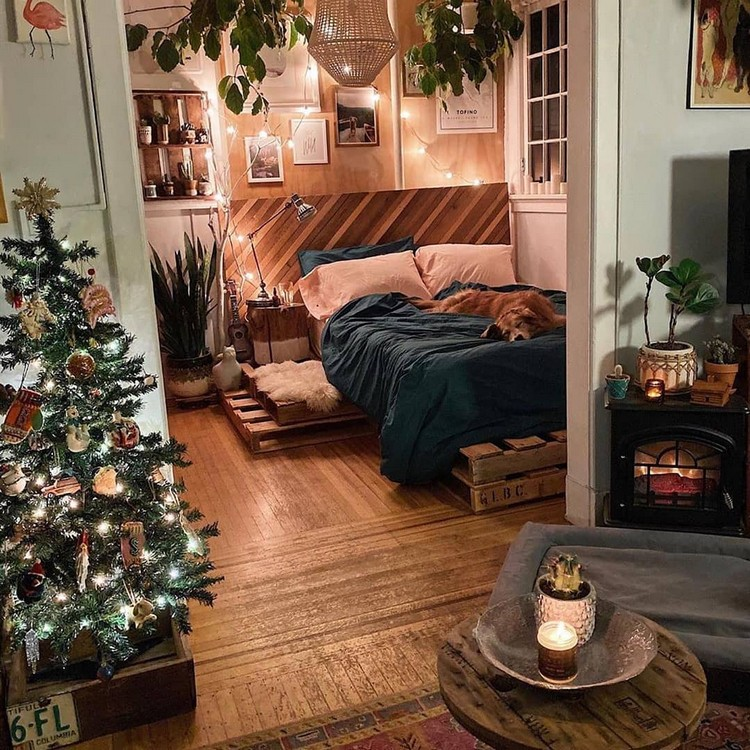 Bohemian Bedroom Decor Design (3)