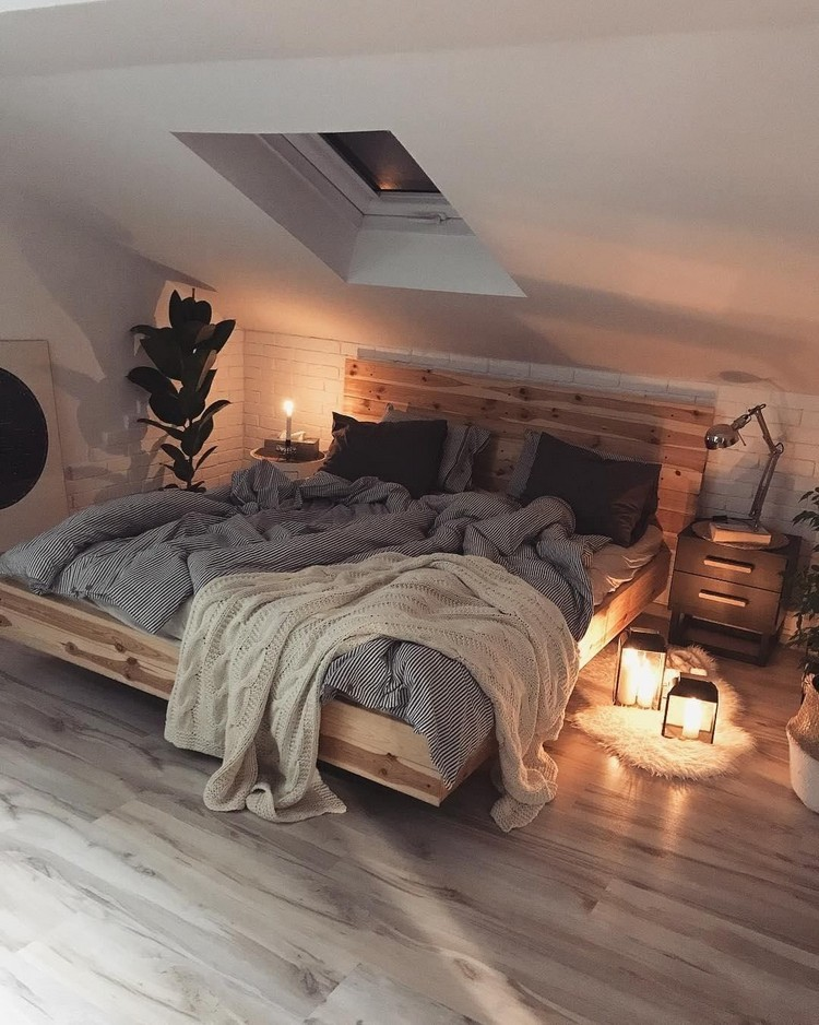 Bohemian Bedroom Decor Design (6)