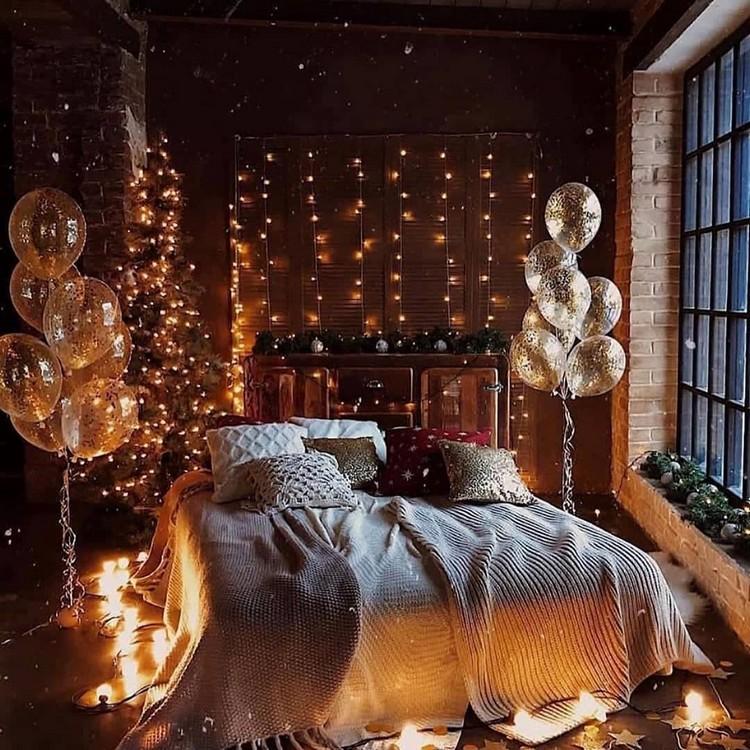 Bohemian Bedroom Decor Design (8)