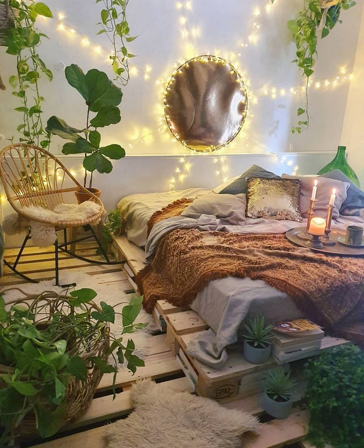 Bohemian Bedroom Decorating (18)