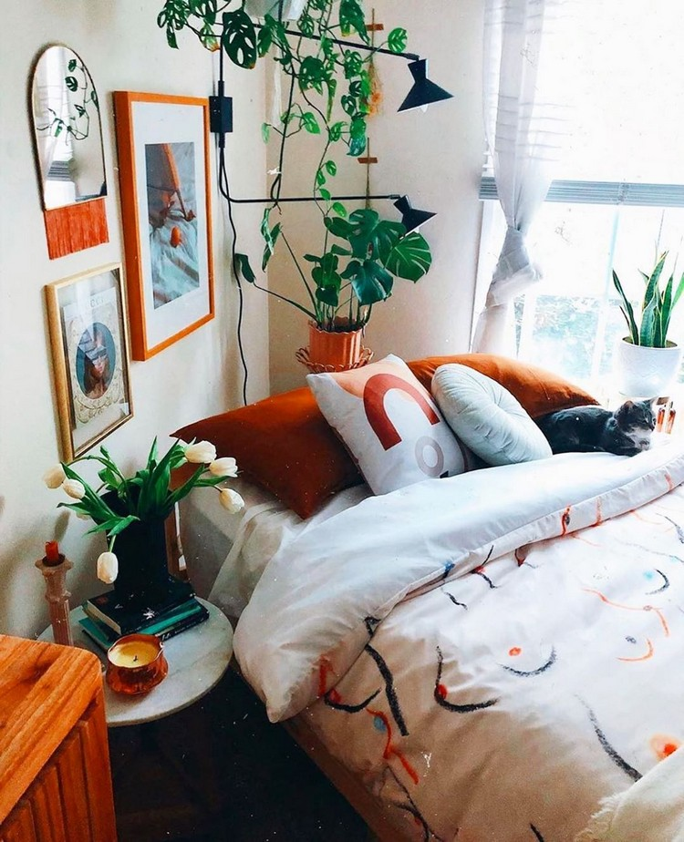 Bohemian Bedroom Decorating (19)