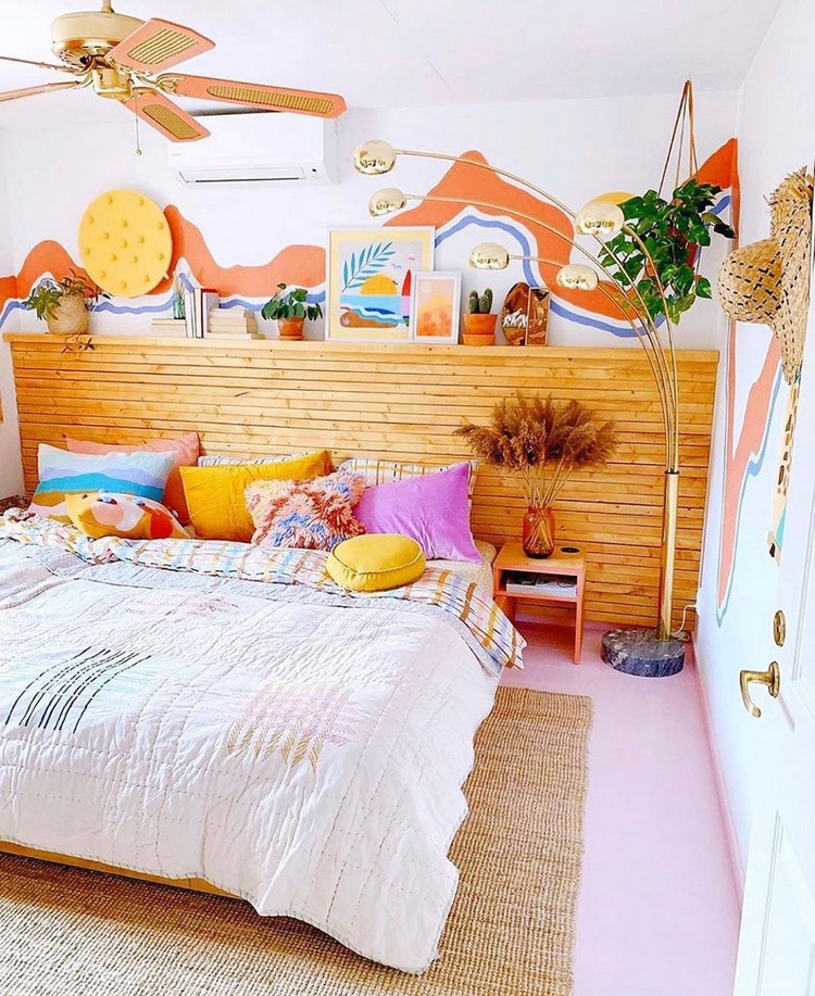 Bohemian Bedroom Decorating (22)