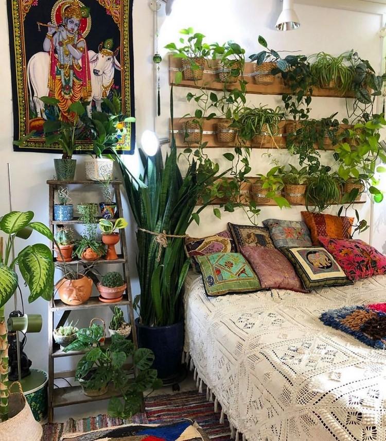 Bohemian Bedroom Decorating (26)