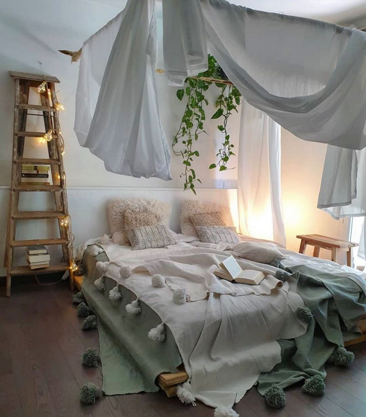 Bohemian Bedroom Decorating (3)