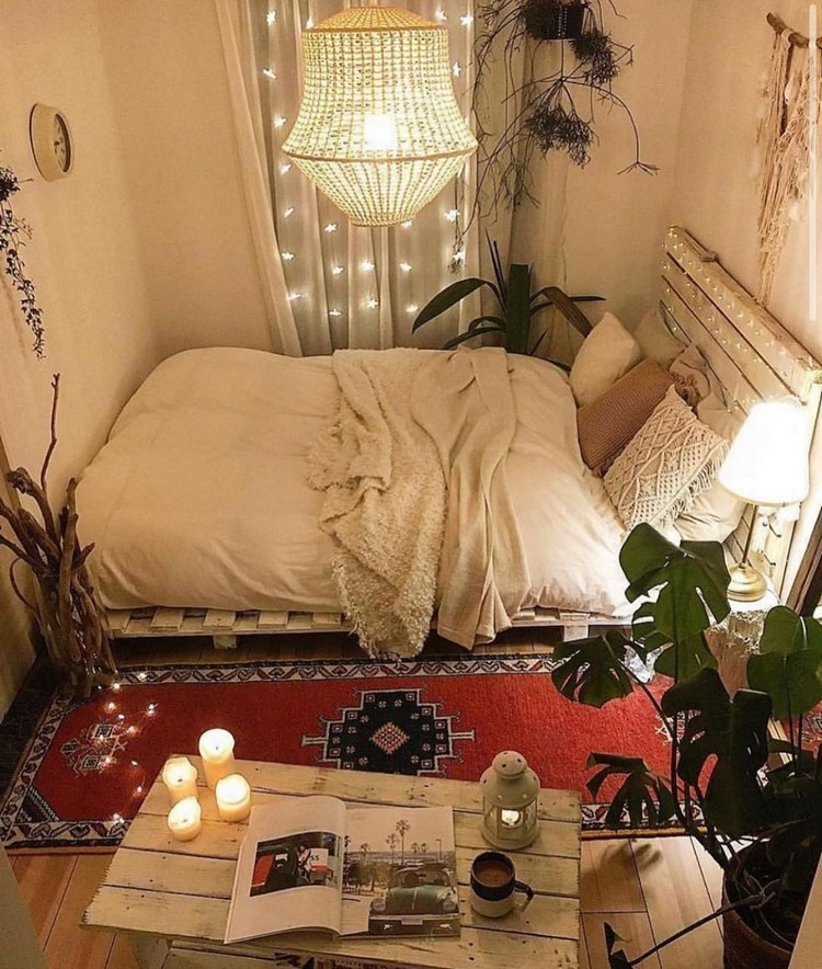 Bohemian Bedroom Decorating (5)