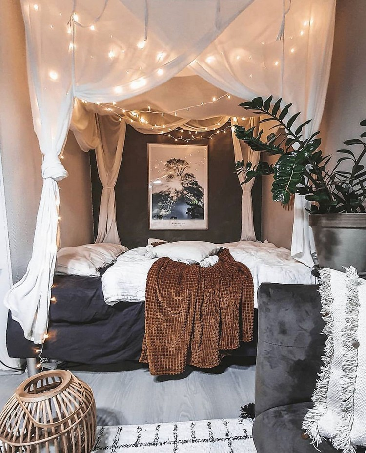 Bohemian Bedroom Decorating (8)
