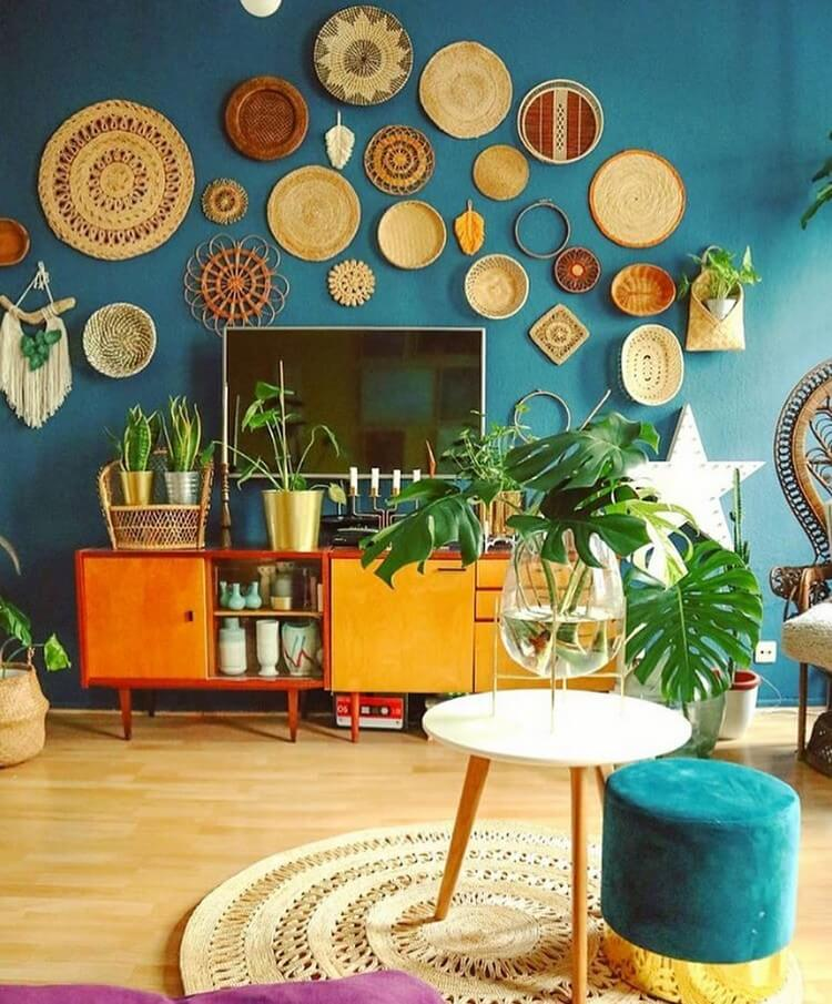 Bohemian Home Interior Decor (24)