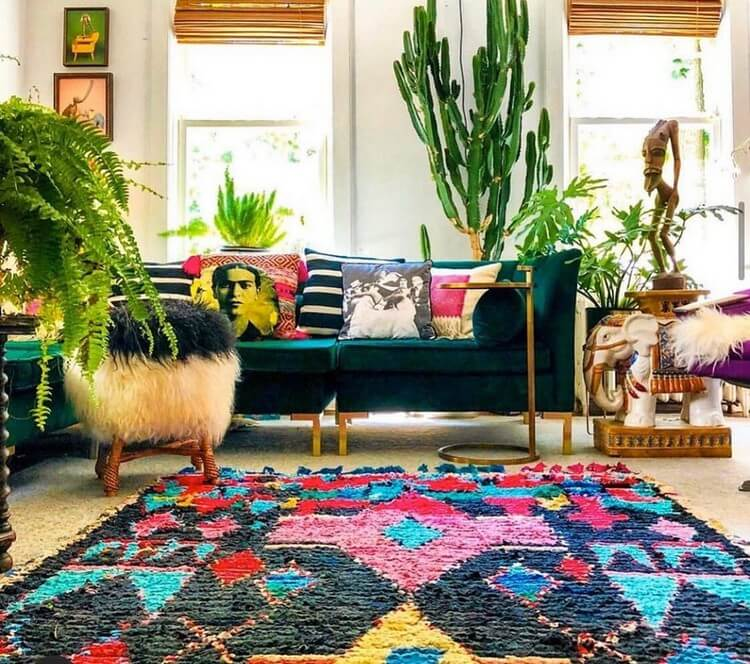 Bohemian Home Interior Decor (25)