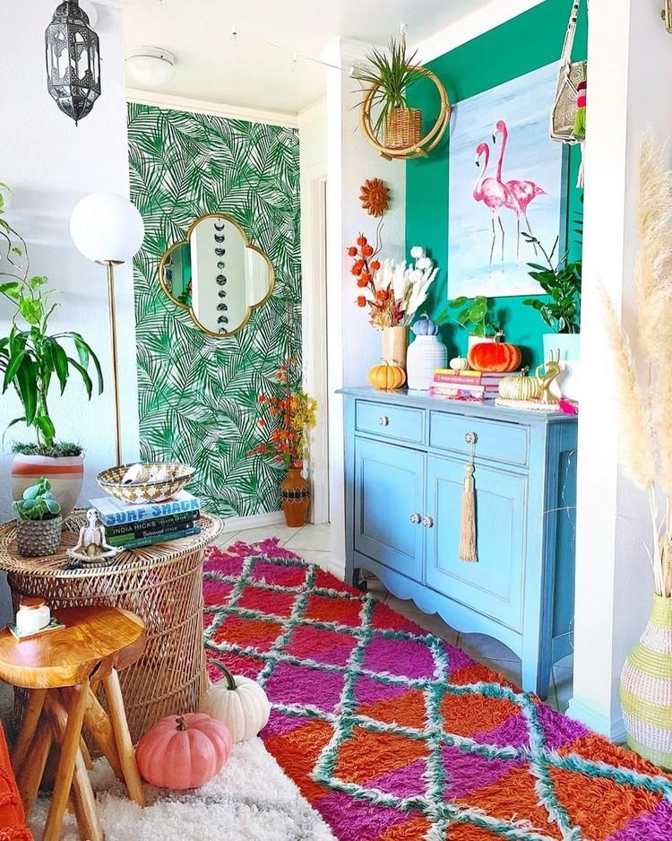 Bohemian Home Interior Design (13)