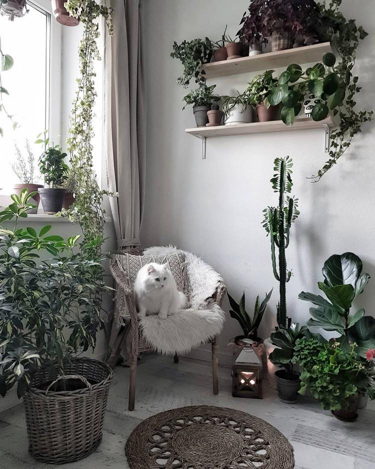 Bohemian Home Interior Design (22)