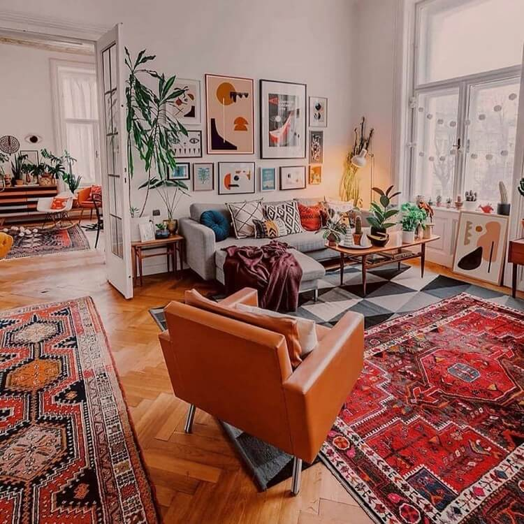 Bohemian Interior Design (22)