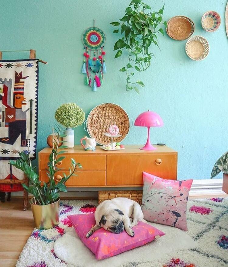Bohemian Interior Design (28)