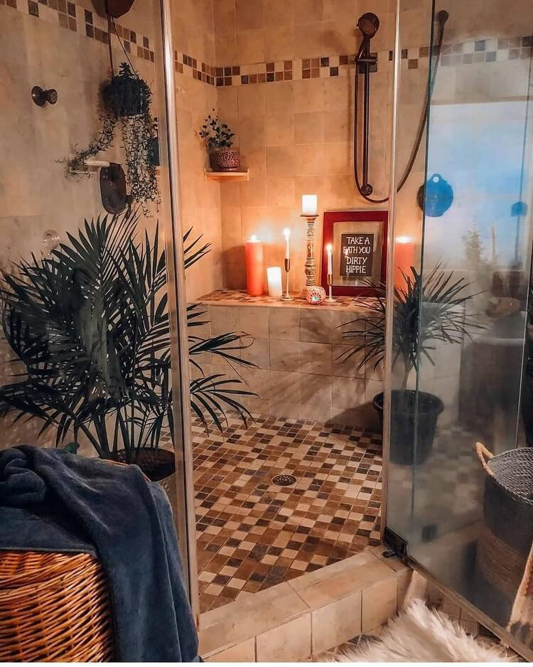 Bohemian Style Home Interior Decor (11)