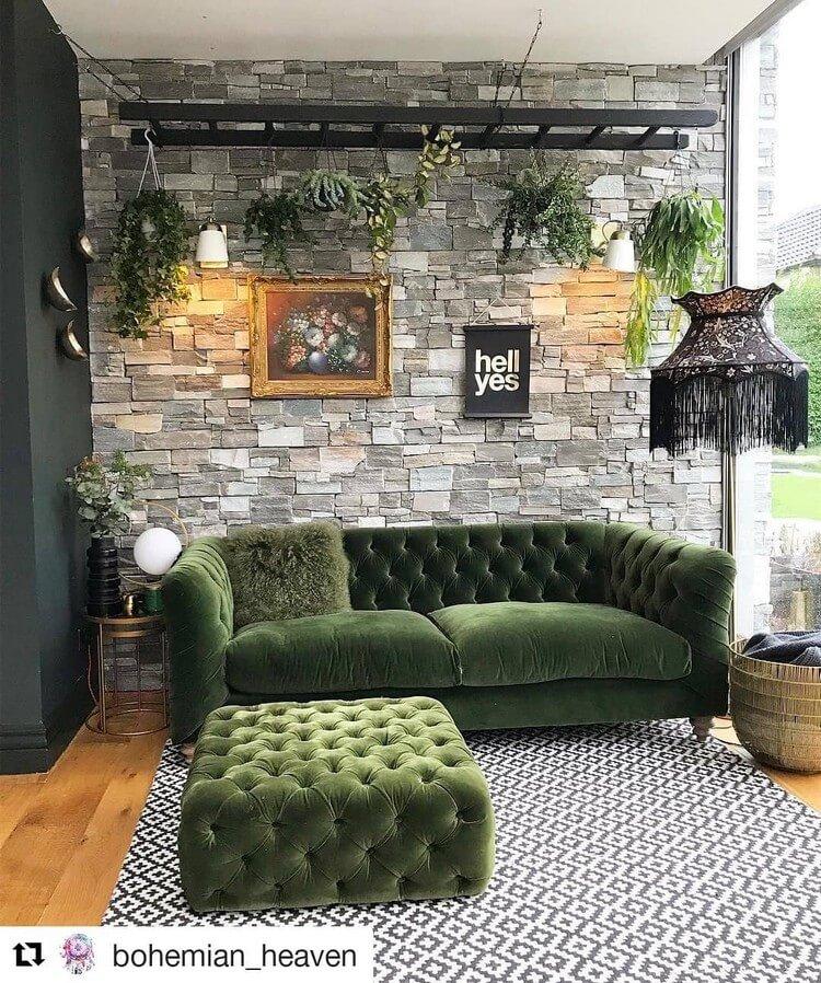Bohemian Style Home Interior Decor (12)