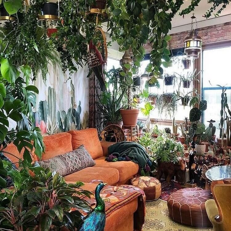 Bohemian Style Home Interior Decor (15)
