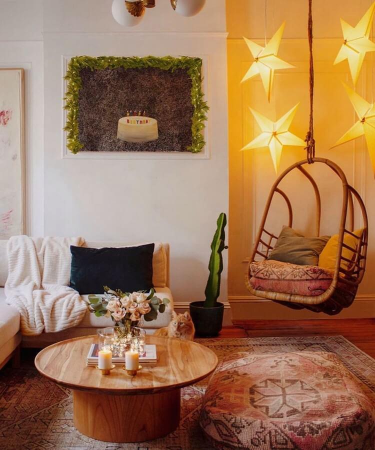 Bohemian Style Home Interior Decor (27)