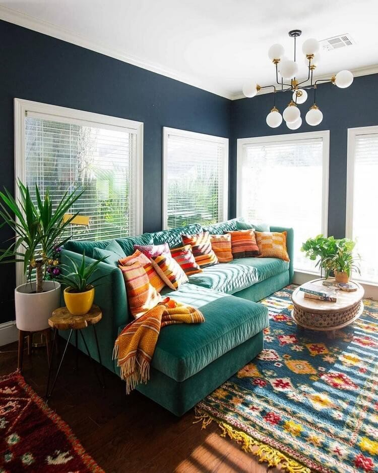 Bohemian Style Home Interior Decor (3)