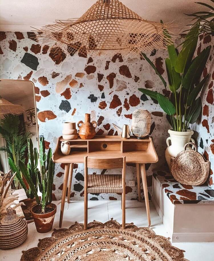 Bohemian Style Home Interior Decor (6)
