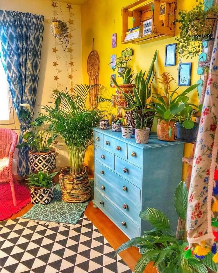 Bohemian Style Home Interior Decor (8)