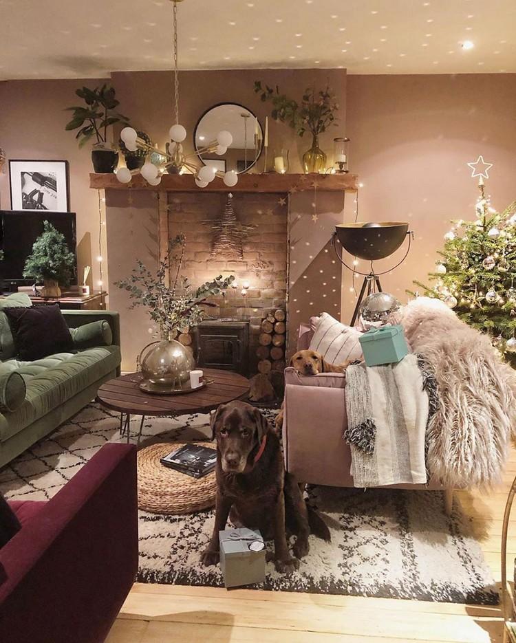 Modern Style Bohemian Interior Design (11)