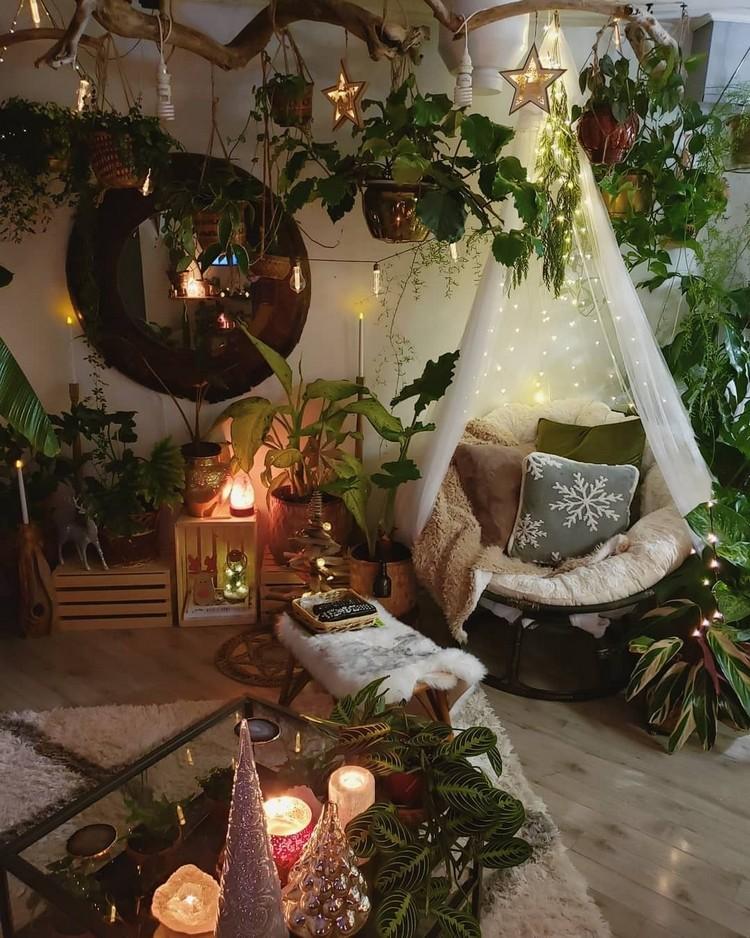 Modern Style Bohemian Interior Design (16)