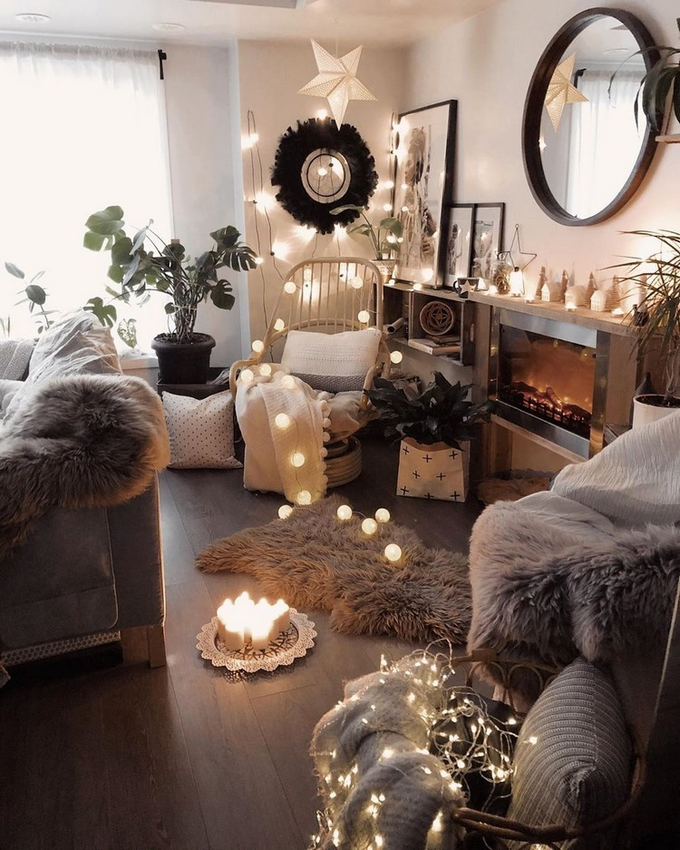 Modern Style Bohemian Interior Design (18)