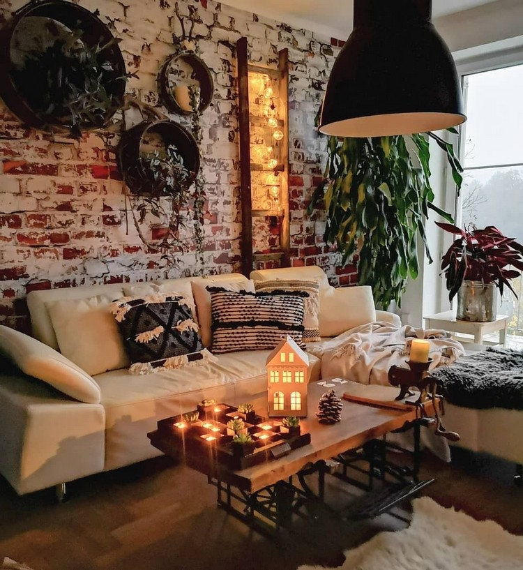 Modern Style Bohemian Interior Design (19)
