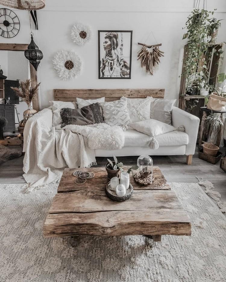 Modern Style Bohemian Interior Design (6)