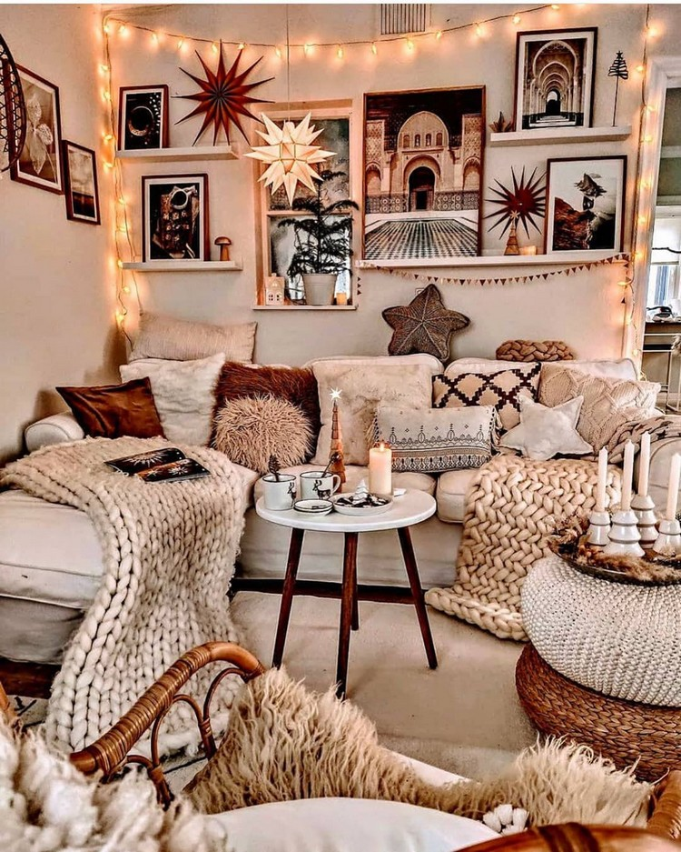 Creative Bohemian Home Decor Design (22)