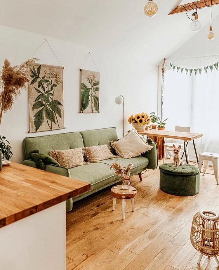 Elegant Bohemian Home Interior Decor Design (10)