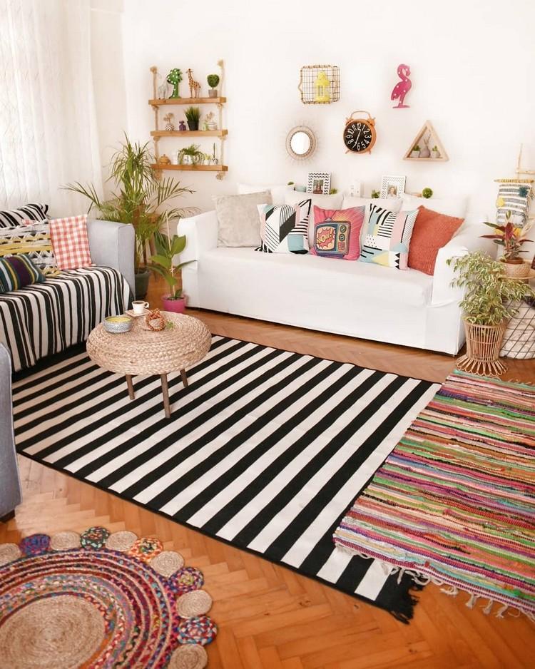 Elegant Bohemian Home Interior Decor Design (14)