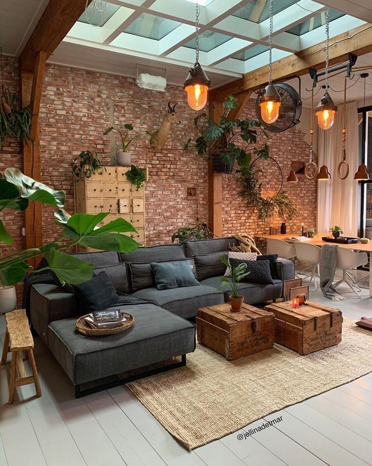 Elegant Bohemian Home Interior Decor Design (15)