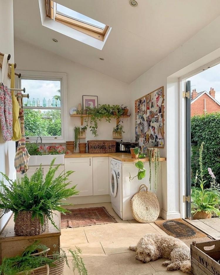 Elegant Bohemian Home Interior Decor Design (17)