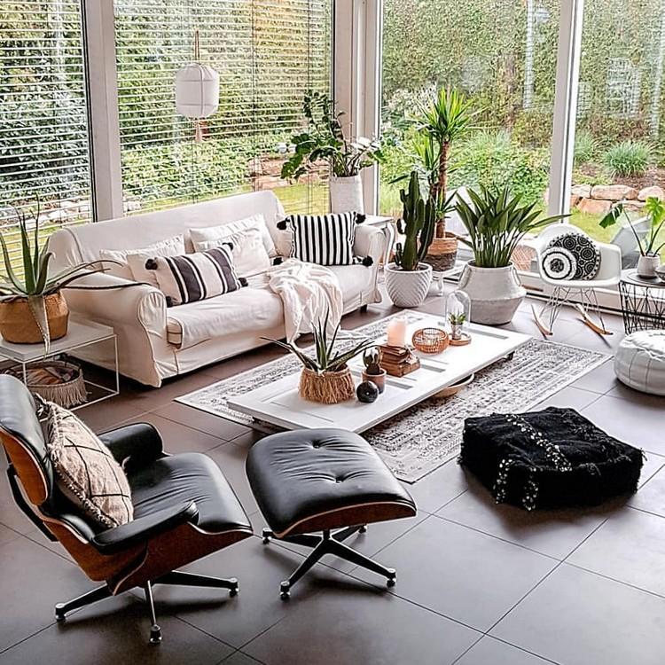 Elegant Bohemian Home Interior Decor Design (20)