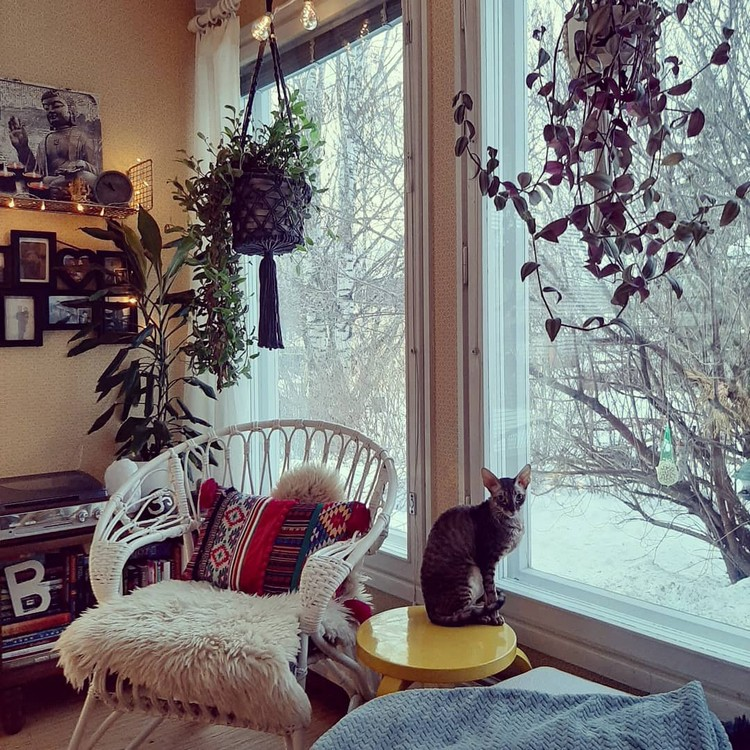 Elegant Bohemian Home Interior Decor Design (21)