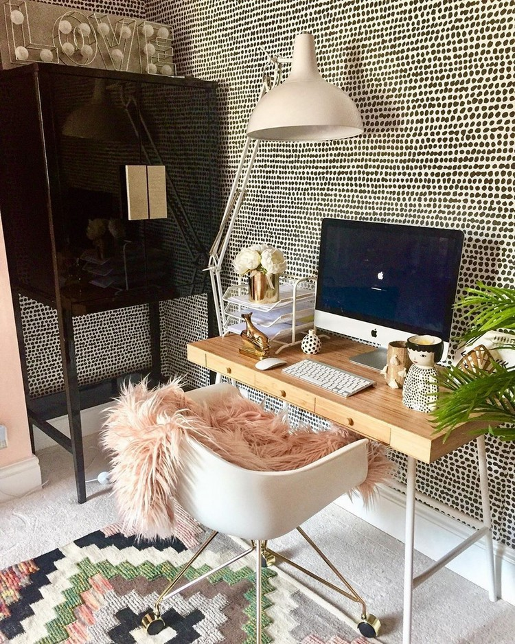 Elegant Bohemian Home Interior Decor Design (22)